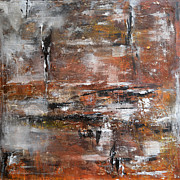 Isi Art - Timeless - Abstract painting by Ismeta Gruenwald