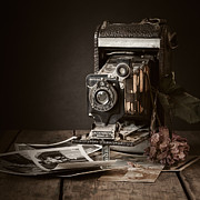 Still Life Photographs Posters - Timeless Poster by Amy Weiss