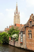 Medieval City Posters - Timeless Bruges Poster by Carol Groenen