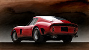Ferrari 250 Gto Framed Prints - Timeless Ferrari Framed Print by Peter Chilelli