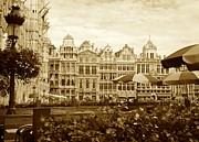 Belgium Photos - Timeless Grand Place by Carol Groenen