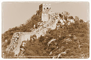 Great Wall Posters - Timeless Great Wall of China Poster by Carol Groenen