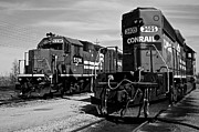 Caboose Framed Prints - Timeless Framed Print by Robert Harmon