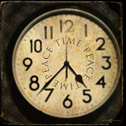 Clock Hands Prints - Timepeacetime Print by Tim Nyberg