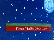 Planet Earth Painting Posters - Times Change Poster by Patrick J Murphy