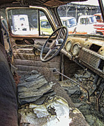 Rusted Cars Photos - Times Oppressive Toll by Daniel Hagerman