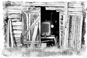 Old Shed Prints - Times Passing Print by Heiko Koehrer-Wagner