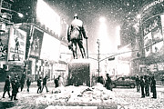 Vivienne Gucwa - Times Square in the Snow...