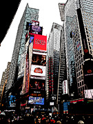 Kevin J Cooper Artwork - Times Square One