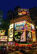 Times Square Print by Svetlana Sewell