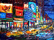 Arthur Robins - Times Square With Globe