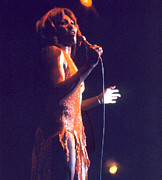 Tina Turner Prints - Tina Turner - Dark Star Print by Robert  Rodvik