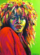 Tina Turner Paintings - Tina Turner by Stuart Glazer