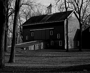 Pa Barns Prints - Tinicum Barn Print by Val Arie