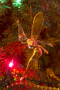 Tink Art - Tinker Bell Christmas Tree Landing by James Bo Insogna