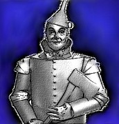 Posters From Framed Prints - Tinman Framed Print by Jerry Gose Jr