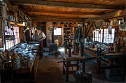 Sturbridge Village Framed Prints - Tinsmith Shop - Old Sturbridge Village Framed Print by Scott Thorp