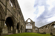Wales Framed Prints Framed Prints - Tintern Abbey - 2 Framed Print by Paul Cannon