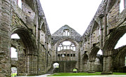 Wales Framed Prints Framed Prints - Tintern Abbey - 3 Framed Print by Paul Cannon