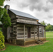 Log Cabin Photos - Tiny Log Cabin by Douglas Barnett