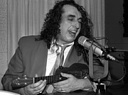 Johnny Carson Art - Tiny Tim at KRLA Studios 1985 by Nancy Clendaniel