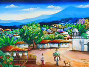 Julio Ortiz - Tipical village