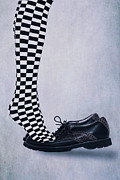 Checked Prints - Tiptoes Print by Joana Kruse