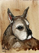 Brindle Painting Prints - Tira Print by Craig Wade