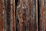 Old Wood Building Photos - Tired Old Eyes by Terril Heilman