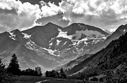 Black And White Mountain Prints Framed Prints - Tirol  The Land of Enchantment Framed Print by Gerlinde Keating - Keating Associates Inc