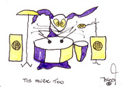 Ringo Starr Art - Tis Music Too - Ringo - Beatles by Tis Art