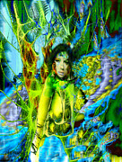 Seth Weaver Metal Prints - Titania-Midsummers Night Dream Metal Print by Seth Weaver