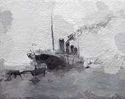 Stefan Kuhn - Titanic leaving Southhampton