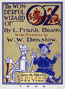 Wizard Of Oz Photos - Title Page: First Edition by Granger