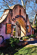 Tlaquepaque Sedona Digital Art Posters - Tlaquepaque - Oil Poster by Jon Burch Photography