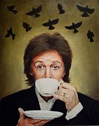 Paul Mccartney Portrait Paintings - To Be Free by Jena Rockwood