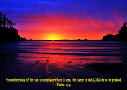 Bible Verse Photos - To Be Praised by Benjamin Yeager