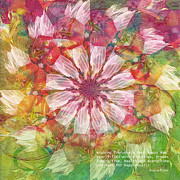 Kaleidoscope Art - To Everyone Happy New Year by Deborah Benoit