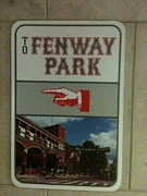 Boston Red Sox Prints - To Fenway Park Print by WaLdEmAr BoRrErO