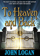 Book Jacket Design Art - To Heaven and Back book cover by Mike Nellums
