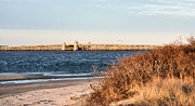 York Beach Metal Prints - To Jones Beach Metal Print by JC Findley