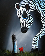 Inspire Painting Metal Prints - To Love Is To Be Loved by Shawna Erback Metal Print by Shawna Erback