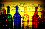 Art Of Wine Prints - To Much of Wine Print by Susanne Van Hulst