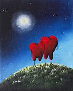 To My Beloved Heart Print By Shawna Erback Print by Shawna Erback