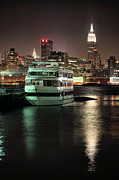 Skylines Metal Prints - To NYC Metal Print by JC Findley