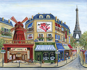 To Paris With Love Print by Marilyn Dunlap