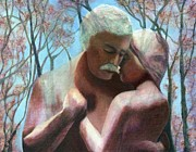 Embrace Paintings - To The End Of Love by Catherine Howard
