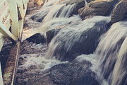 Rushing Water Prints - To the Place I Love Print by Laurie Search