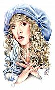 Stevie Nicks Framed Prints - To The Sea Framed Print by Johanna Pieterman