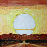 The Heavens Painting Originals - To the Sun by Jane Autry